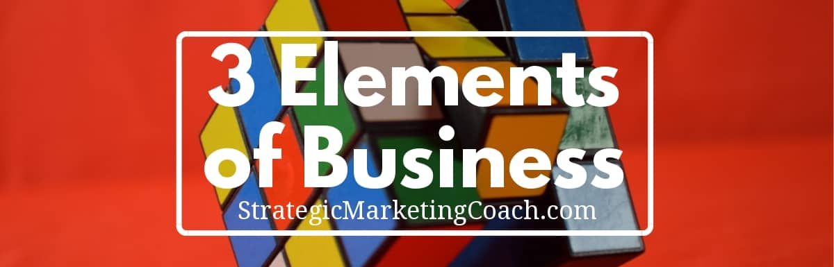 The three building blocks of business